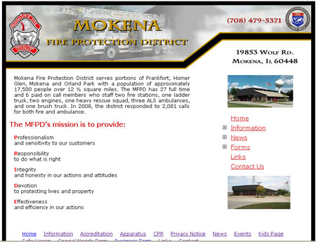 Mokena Fire District